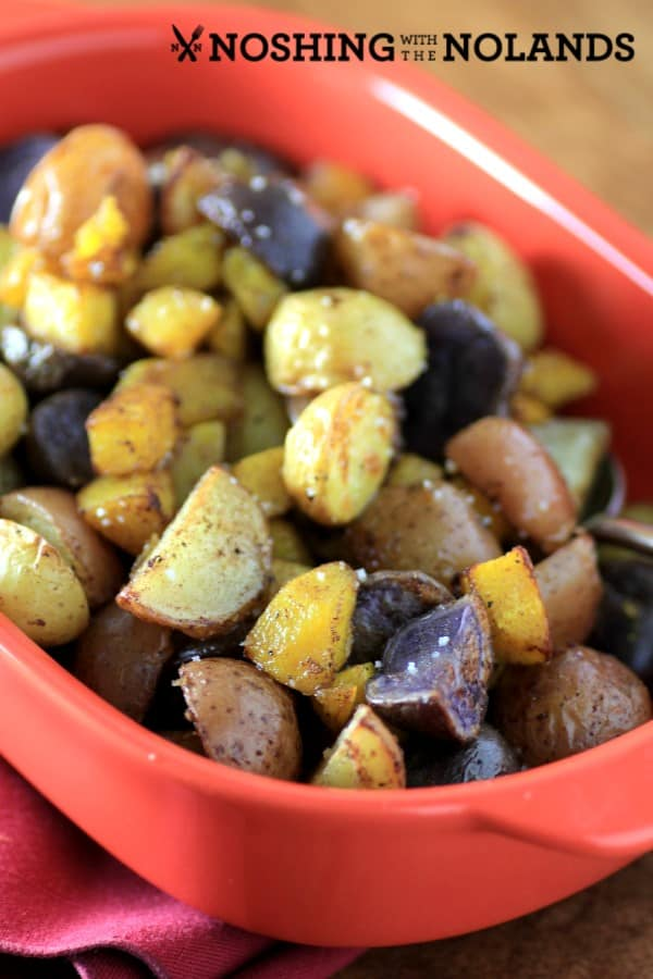 Roasted Cinnamon Little Potatoes and Pumpkin by Noshing With The Nolands (Custom)