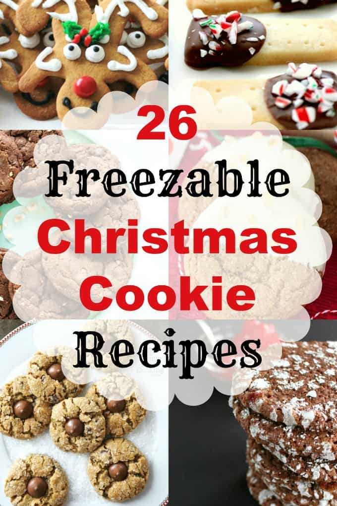 26 Freezable Christmas Cookie Recipes Make Ahead Christmas Cookies
