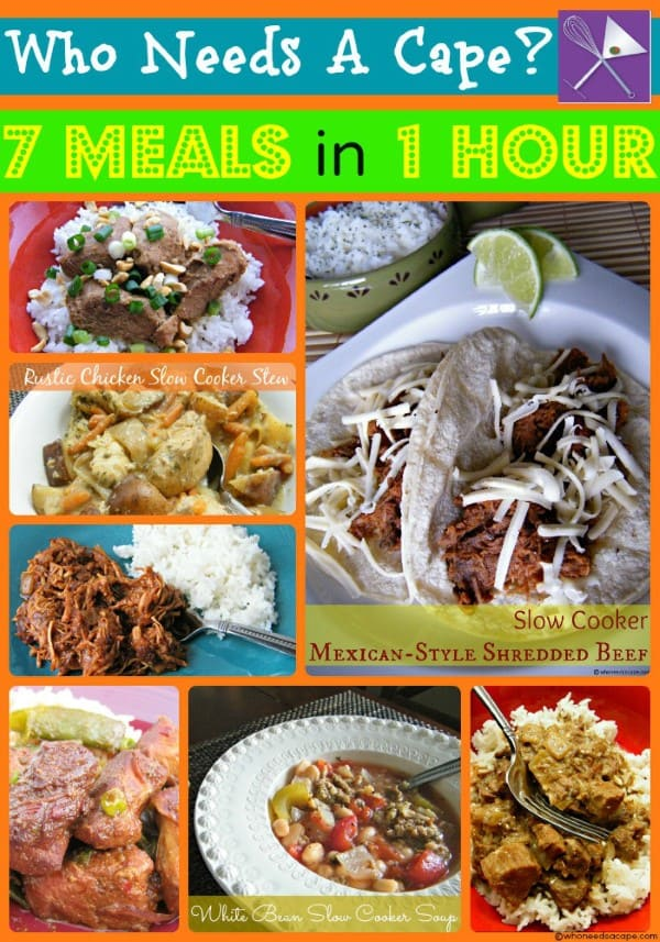 7 Meals in 1 hour