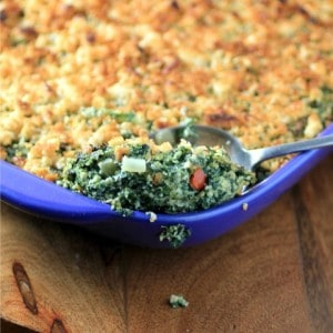 Comfort Spinach Egg Casserole #CanadianEggs