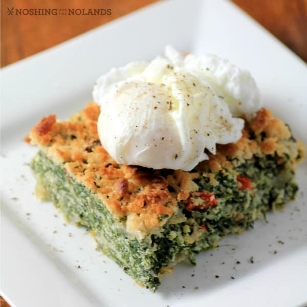 Comfort Spinach Egg Casserole by Noshing With The Nolands