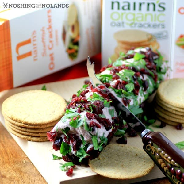 Cranberry Port Goat Cheese Log by Noshing With The Nolands