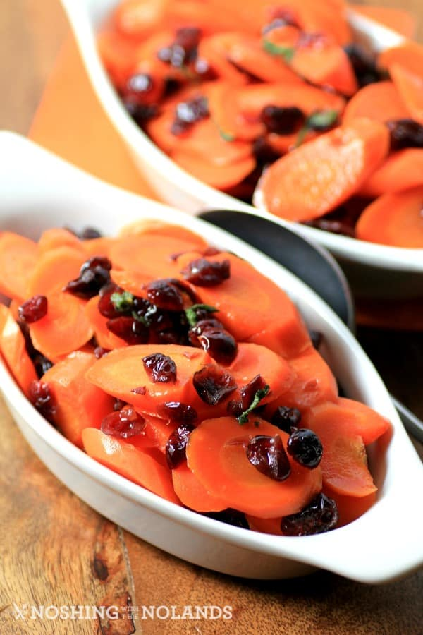 Cranberry Sage Carrots by Noshing With The Nolands