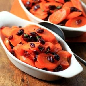 Cranberry Sage Carrots
