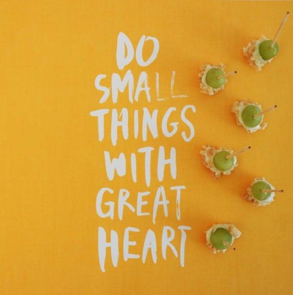 Do Small Things (Custom)