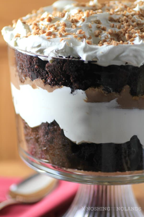 Easy Chocolate Caramel Trifle by Noshing With The Nolands