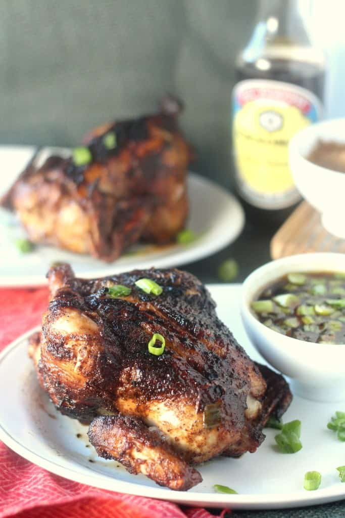 Five-Spiced Grilled Cornish Hens with Mongolian Barbeque Sauce by Blackberrybabe