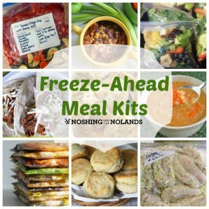 Freeze-Ahead Meal Kit Round Up