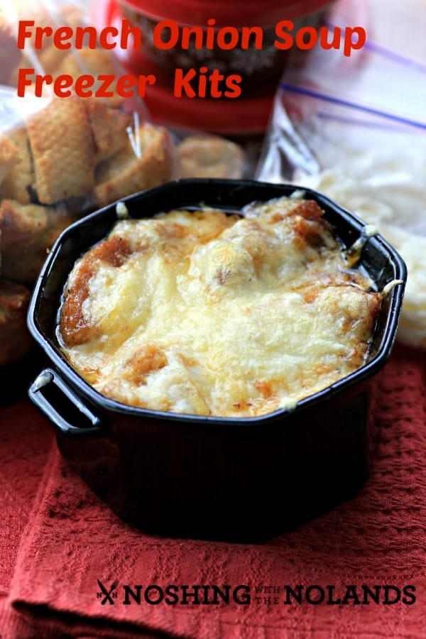 French Onion Soup Freezer Kits #Calphalon by Noshing With The Nolands
