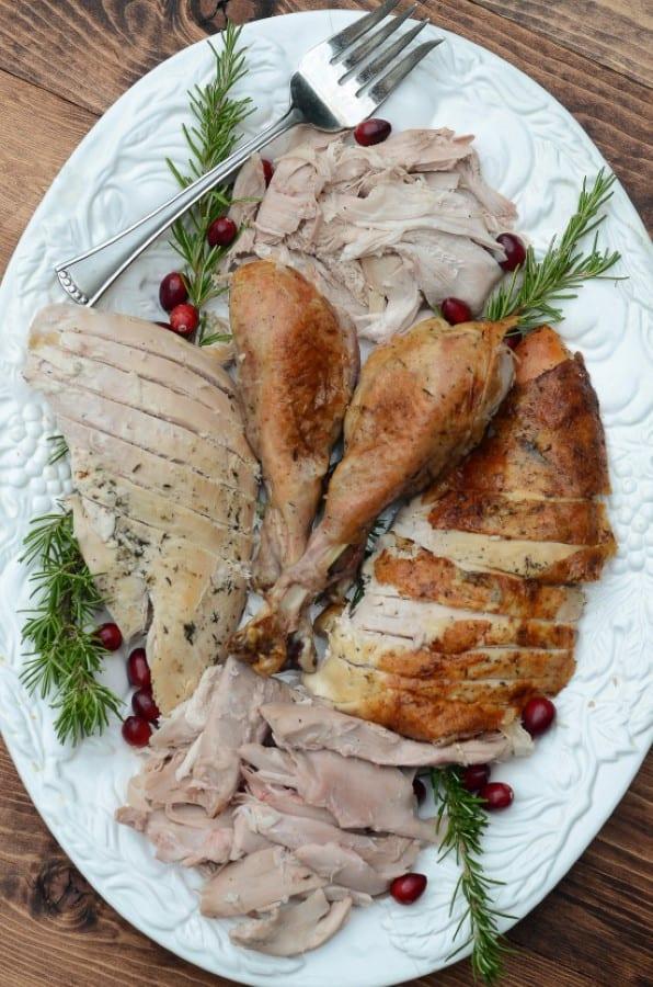Herb Roast Turkey by Valerie's Kitchen