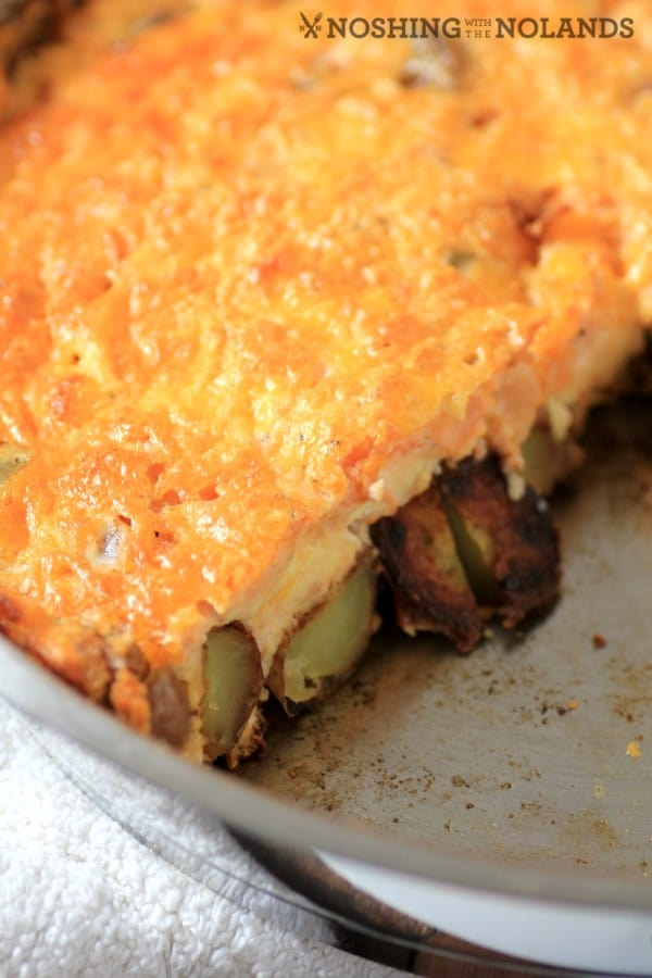 Mexican Potato Frittata by Noshing With The Nolands