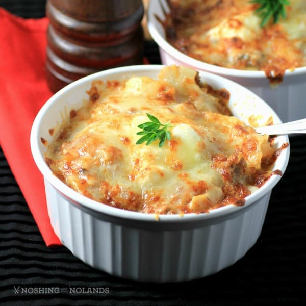 Slow Cooker Lasagna Soup by Noshing With The Nolands