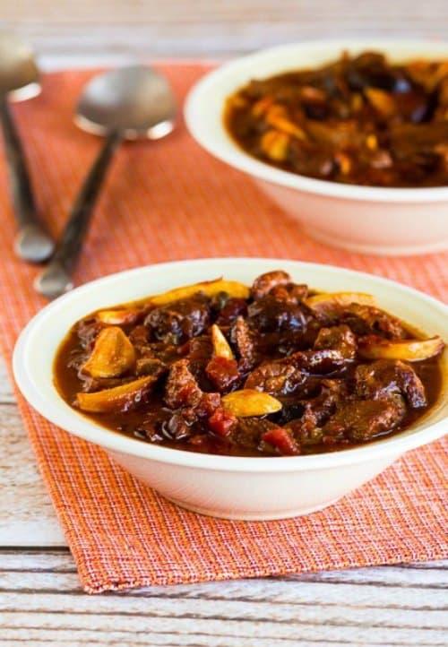Garlic Lover's Crockpot Beef Stew by Kalyn's Kitchen