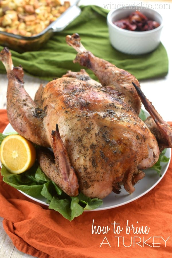 How to Brine a Turkey by Wine and Glue