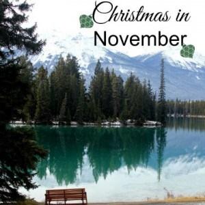 Christmas in November in Jasper