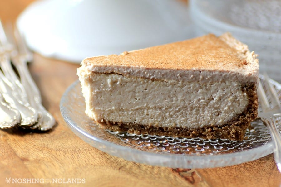 Eggnog Cheesecake by Noshing With The Nolands