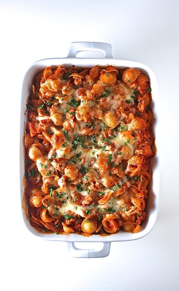 Orecchiette Pasta Bake by Life is But a Dish