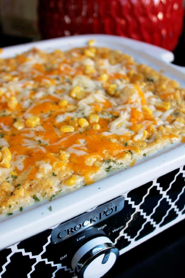 Slow Cooker Corn Pudding Casserole by Creole Contessa