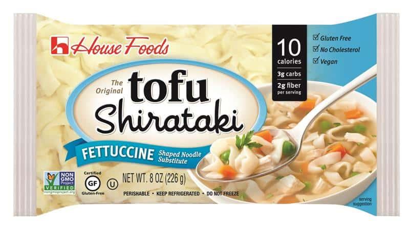 Tofu Shirataki Fettuccine