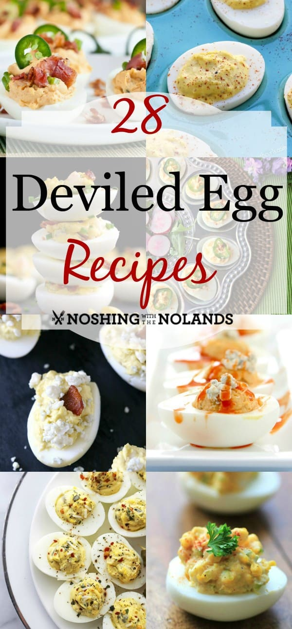 28 Deviled Egg Recipes Collage2 (Custom) (2)
