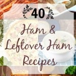 40 Ham and Leftover Ham Recipes Collage square (Small)