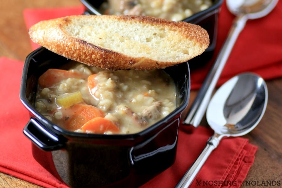 Beef Barley Soup by Noshing With The Nolands