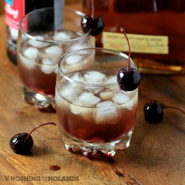 Bourbon Cherry Smash by Noshing With The Nolands (10)