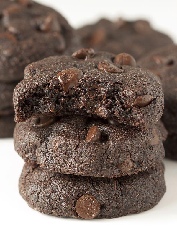 Buckwheat-Double-Dark-Chocolate-Brownie-Cookies-The-Lemon-Bowl