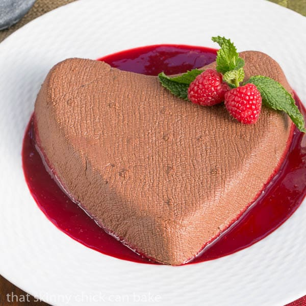 Chocolate Coeur a la Creme by That Skinny Chick Can Bake