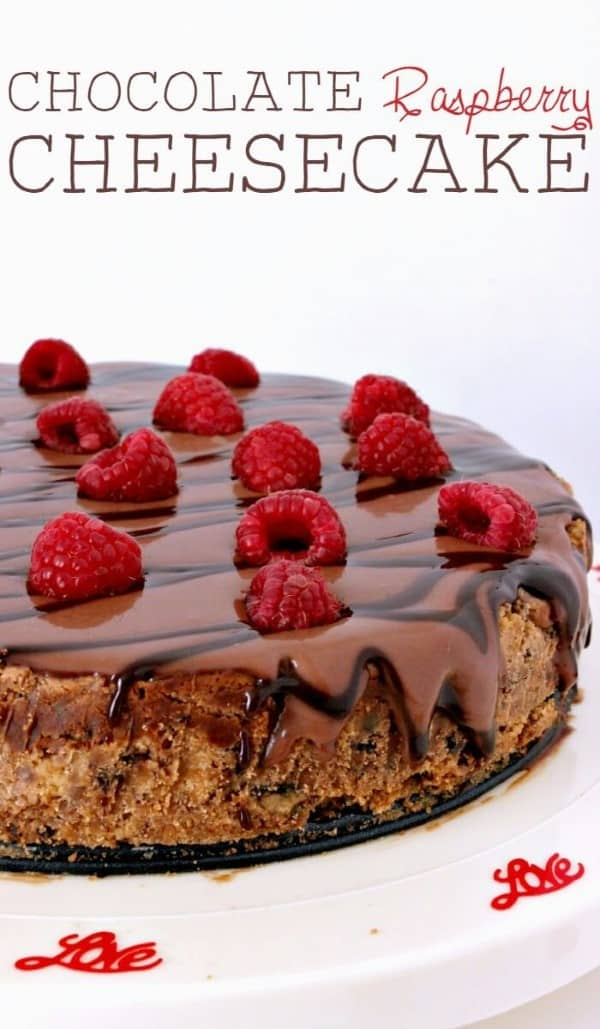 Chocolate Raspberry Cheesecake (Custom)