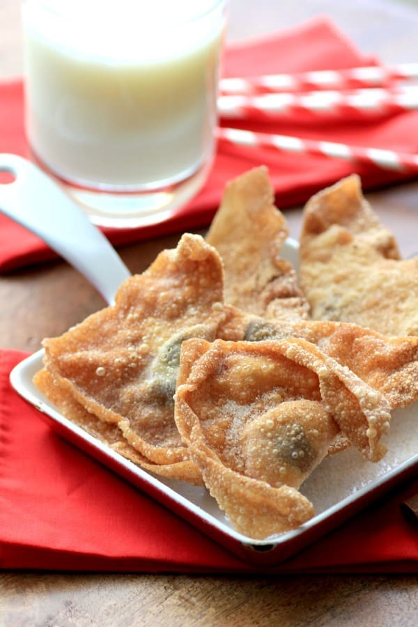 Chocolate Stuffed Wontons by Noshing With The Nolands (Custom)