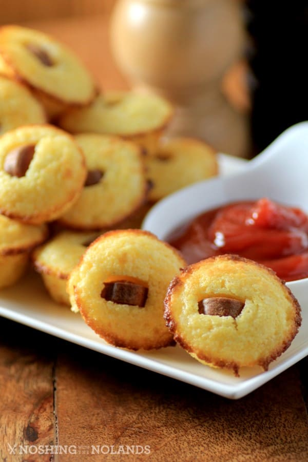 Corn Dog Muffins by Noshing With The Nolands