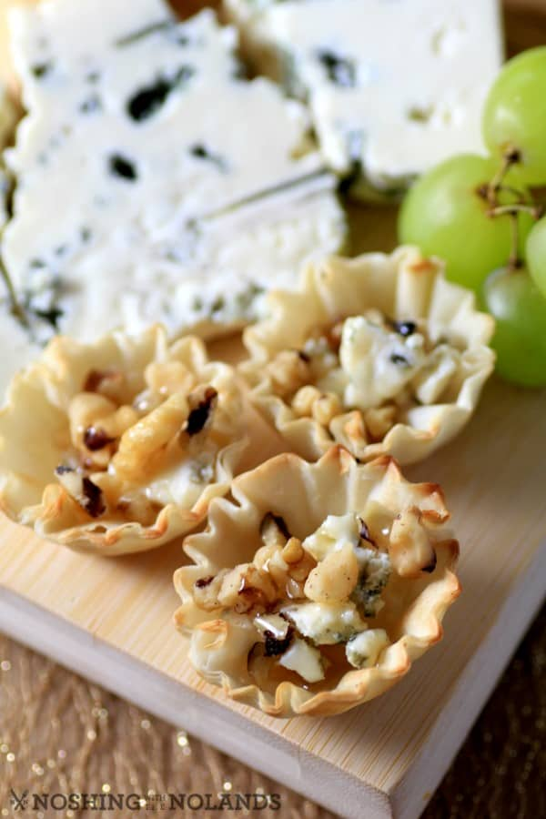 Gorgonzola Walnut Honey Bites by Noshing With The Nolands