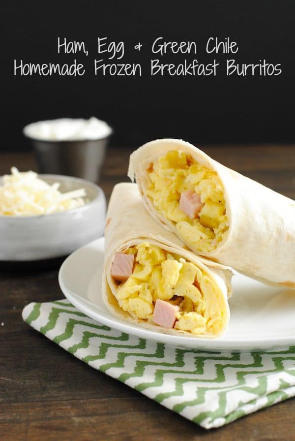 Homemade-Green-Chile-Ham-Frozen-Breakfast-Burritos-1