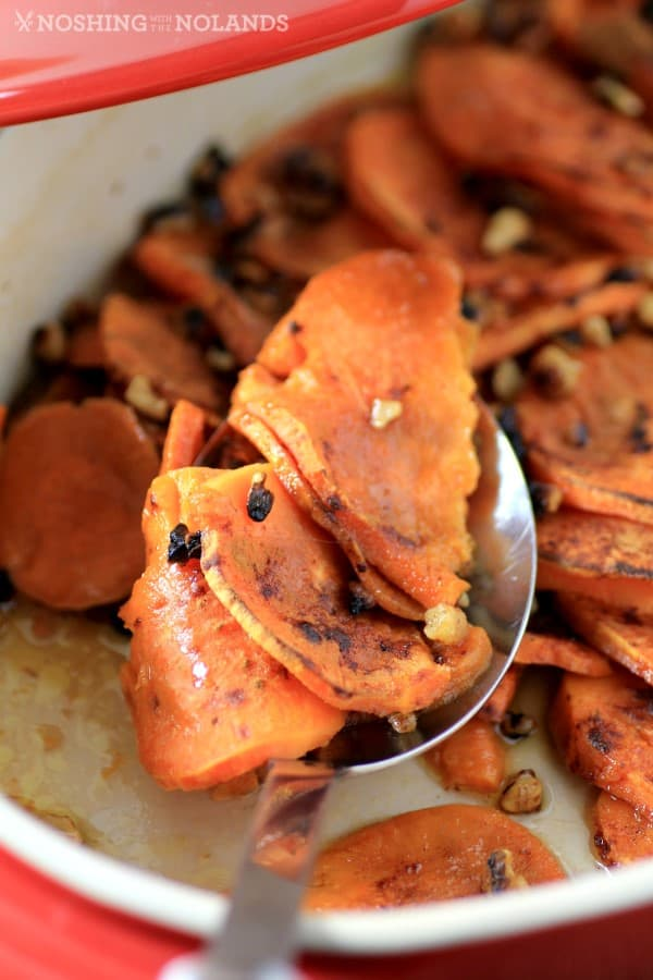 Roasted Sweet Potato Medallion Casserole by Noshing With The Nolands
