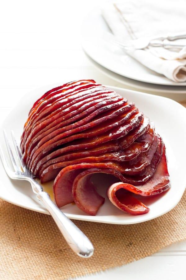 Slow Cooker Honey Glazed Ham (Custom)