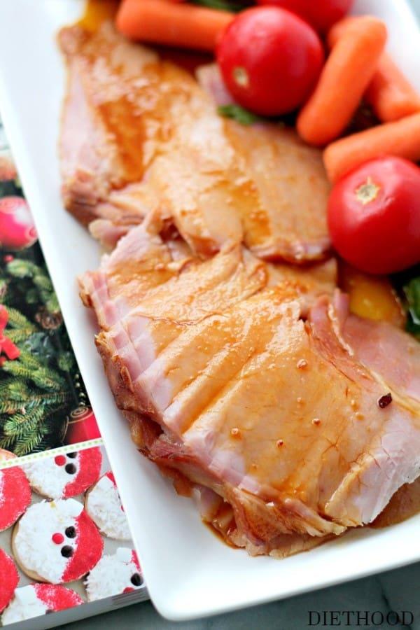 Slow Cooker Honey Glazed Ham2 (Custom)
