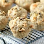 Banana Arpicot Walnut Muffins by Noshing With The Nolands 480x480