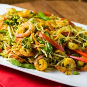 Easy Light Singapore Noodles