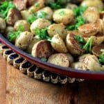 Skillet Greek Potatoes by Noshing With The Nolands 480x480