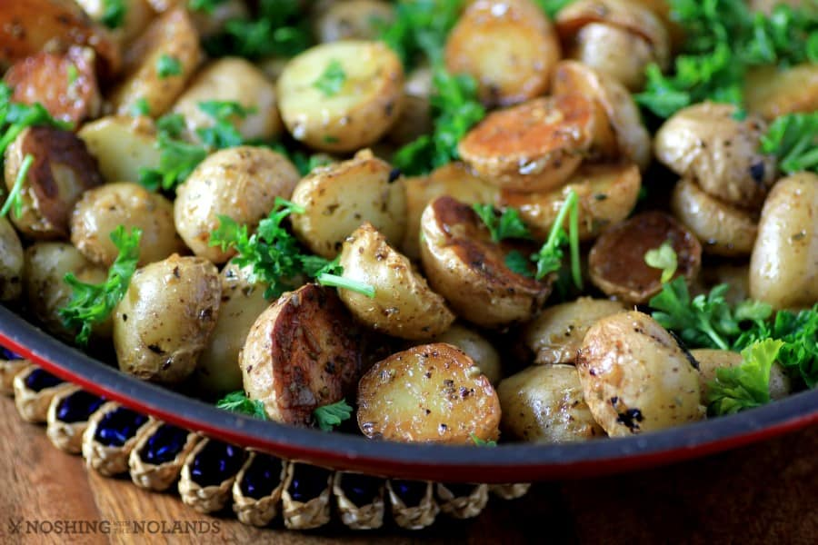 Skillet Greek Potatoes by Noshing With The Nolands (Custom)
