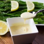 Asparagus with Easy Blender Hollandaise Sauce 480x480