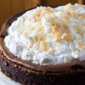 Chocolate Cake with Hippie Flakes