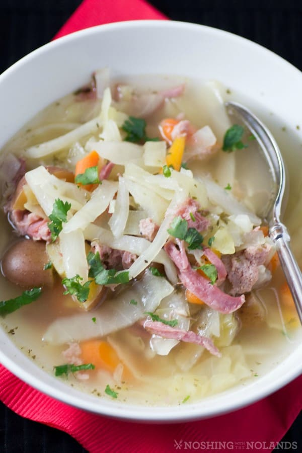 Corned Beef and Cabbage Soup by Noshing With The Nolands