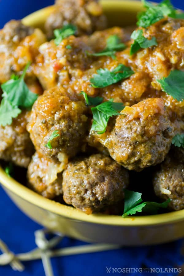 Kofta Curry {Meatball Curry} by Noshing With The Nolands