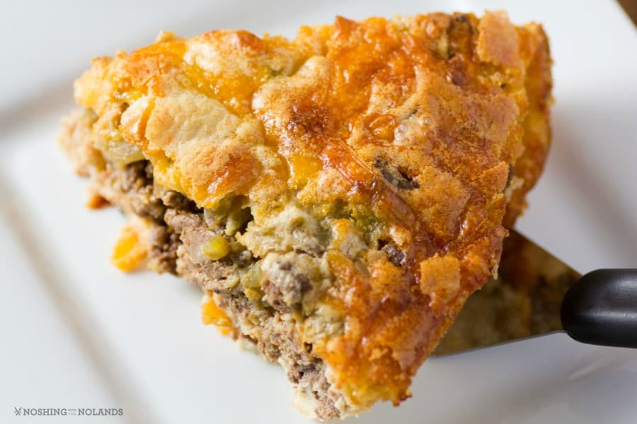 Mexican Impossible Pie by Noshing With The Nolands
