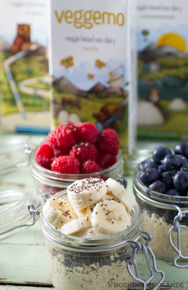 Overnight Oatmeal Jars by Noshing With The Nolands