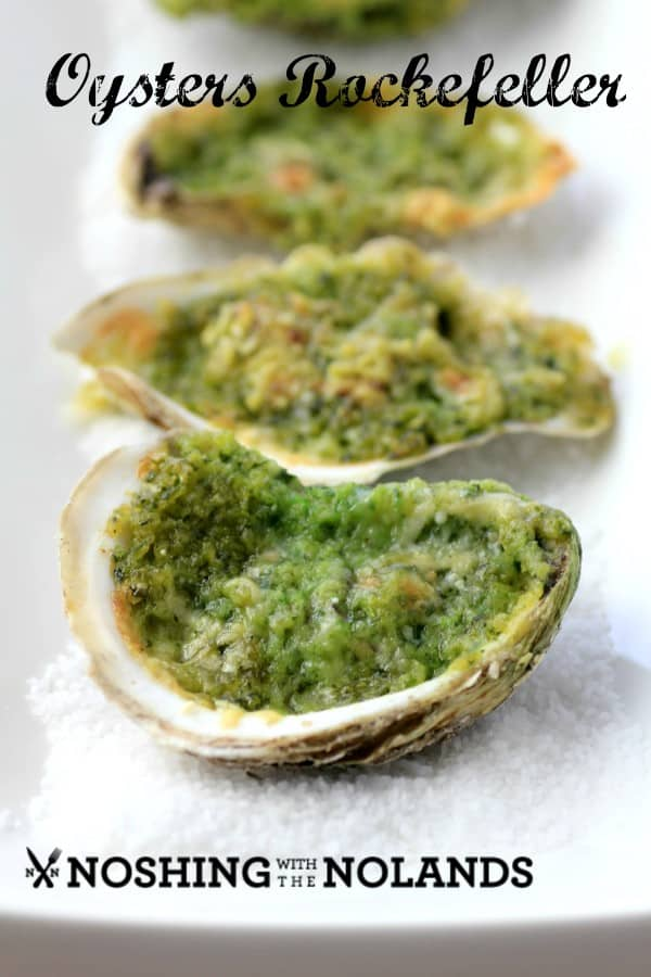 Oysters Rockefeller by Noshing With The Nolands (Custom)