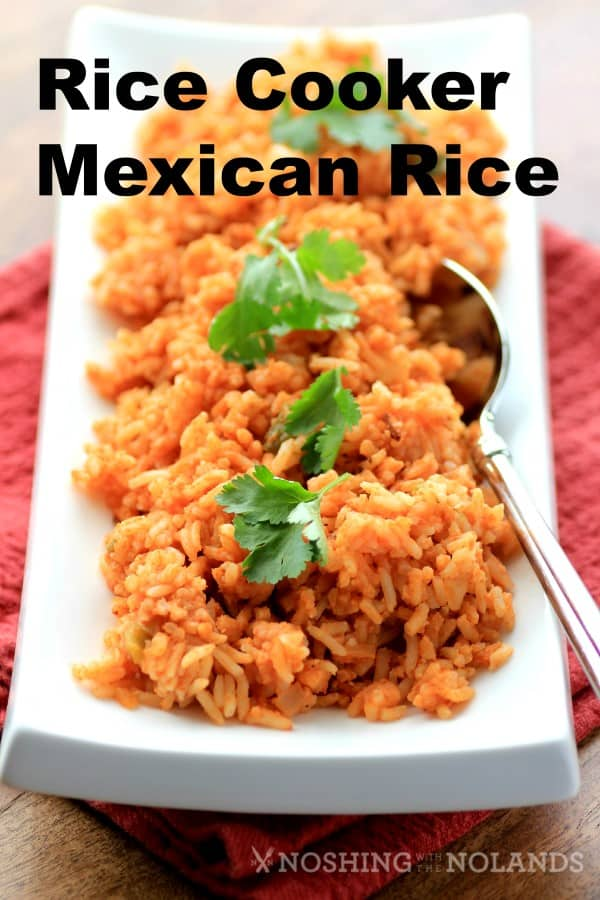 MWM Rice Cooker Mexican Rice