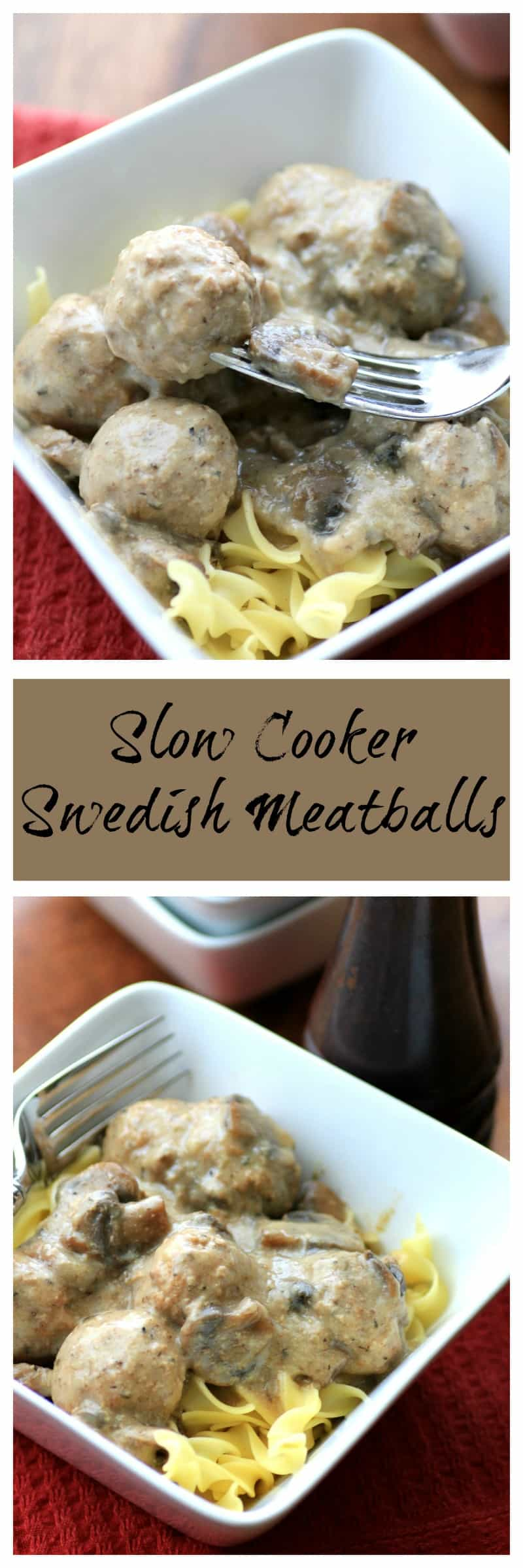 how to cook swedish meatballs in a slow cooker